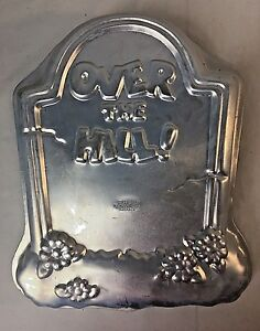 Image Is Loading Vintage Over The Hill Cake Pan Mold Tombstone