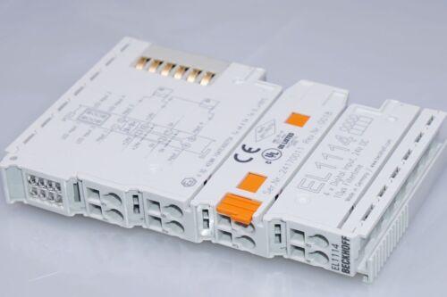 Beckhoff el1114 4-canal-Digital-entrada bornas 24 V DC nuevo...