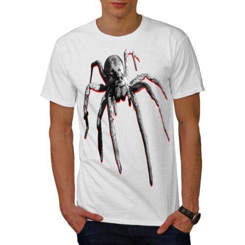 Wellcoda reale SPIDER tossico Da Uomo T-shirt volando design grafico stampato T-shirt