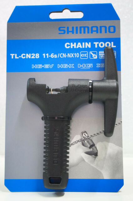Shimano TL-CN28 6-11 Speed Chain Tool, KMC Sram 6-11 Chains Spd Usable