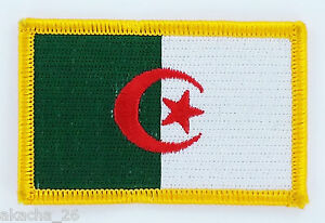 PATCH ECUSSON BRODE DRAPEAU ALGERIE INSIGNE THERMOCOLLANT NEUF FLAG PATCHE rYlBfz6f-09165007-593248373