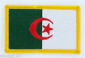 PATCH ECUSSON BRODE DRAPEAU ALGERIE INSIGNE THERMOCOLLANT NEUF FLAG PATCHE rYlBfz6f-09165007-593248373