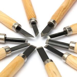 10-Pcs-Wood-Carving-Hand-Chisel-Tool-Set-Woodworking-Professional-Gouges