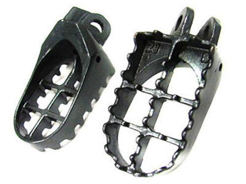 Motorcycle FOOT PEGS For Kawasaki KLX 400 Suzuki RM125 RM 250 DRZ 400 DR-Z400