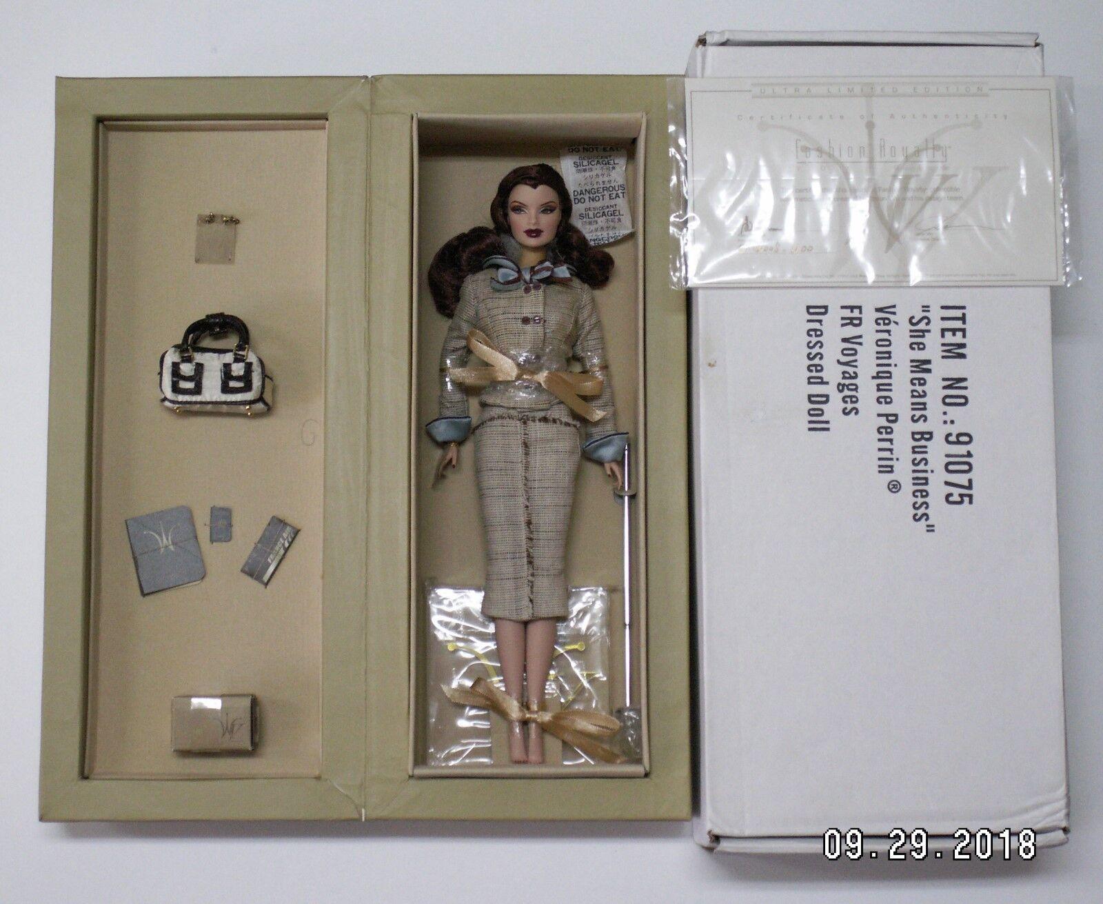 Moda realeza-Véronique Perrin ® - ella es sinónimo de negocios, (2005) - en caja original