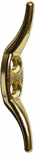 2-1//2-Inch Brass Stanley National Hardware 3200BC Rope Cleat