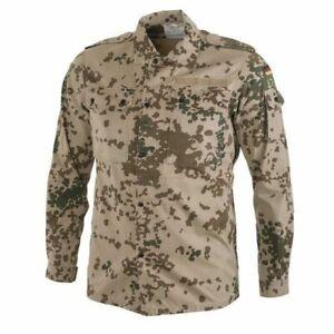 Authentic-German-Army-Combat-Field-Shirt-Tropical-Flecktarn-Camo-Bundeswehr