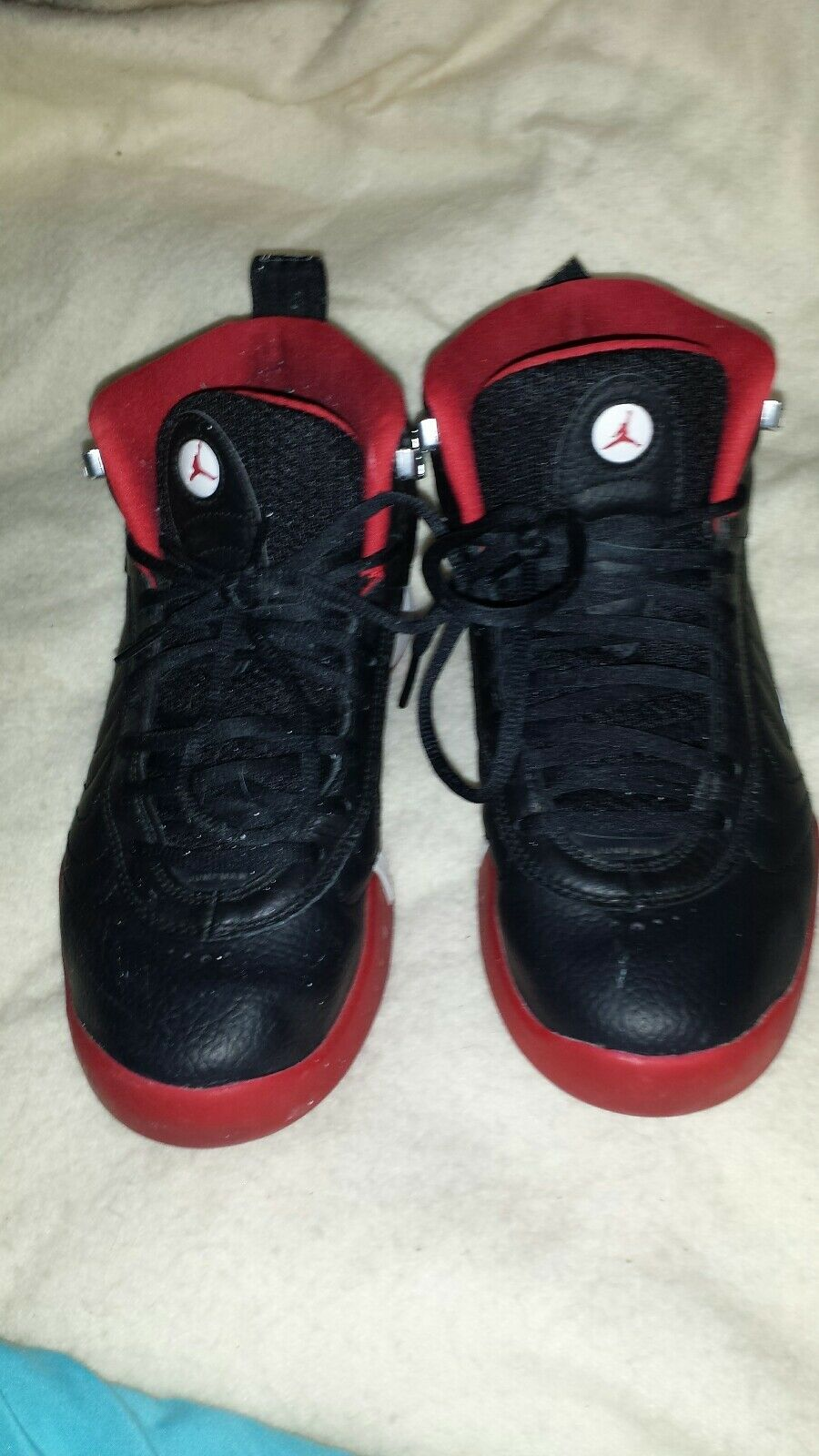 Men's Air Jordan Jumpman Pro OG Black/Red/White Sz 8. Pre-owned.  906876-001