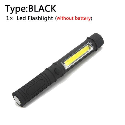 COB Magnétique LED Lampe de poche Ultra Bright Torch Lampe Garage Extérieur Trav