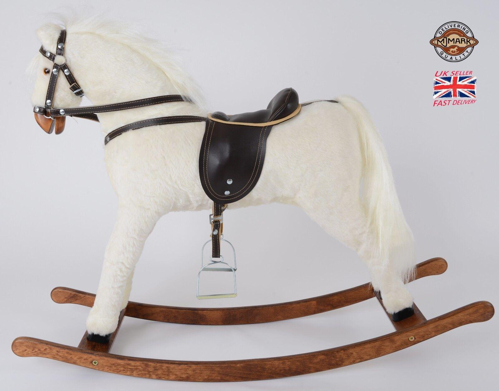 Hermosa hecha a mano nuevo Mecedora Caballo  Titan V  de mjmark Hecho En Europa