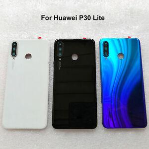 Pour-Huawei-p30-Lite-Couvercle-De-Batterie-D-039-Batterie-Rear-Cover-Batterie-Capot-Back-Cover