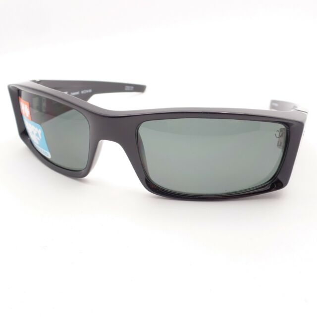 40f90ea73c Spy Optics Hielo Shiny Black Happy Grey Green Polarized New Sunglasses  Authentic
