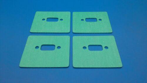 4 Stück Original Lauterbacher Spezial-Auslaßdichtung für Reely Carbon-Fighter 3