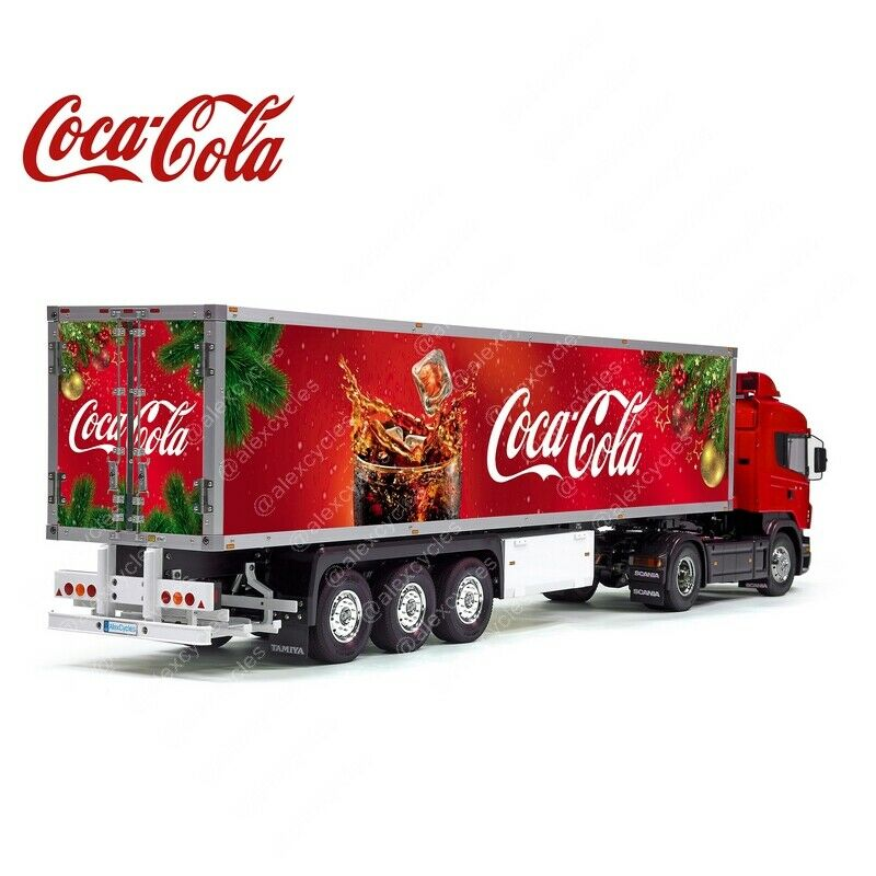56319 Tamiya 14th 1 14 Scale Scale Scale Reefer scatola Trailer Christmas nuovo Year Decals + ROOF b4e47d