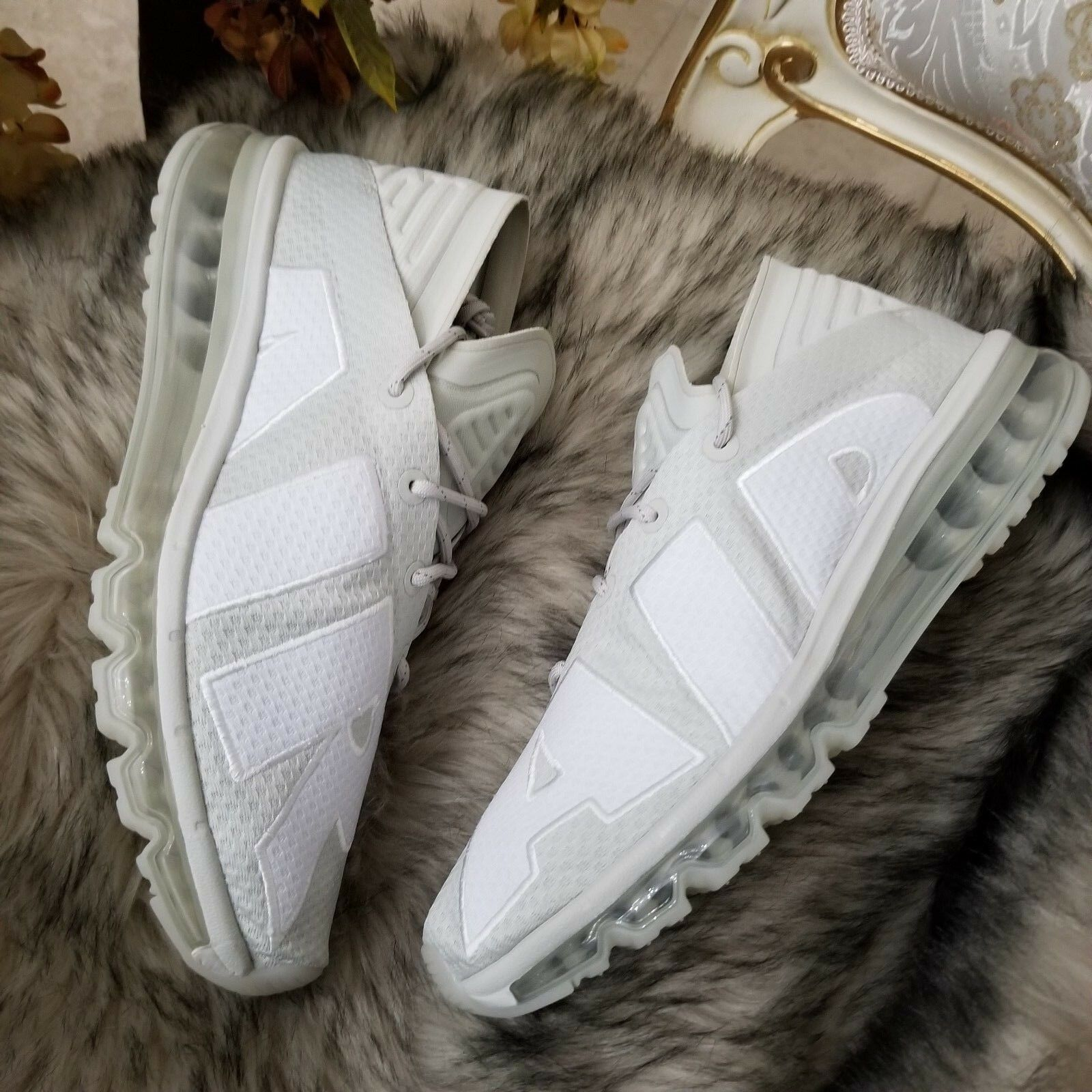 Men's Nike Air Max Flair Running shoes Size 10 Light Bone Style 942236-005