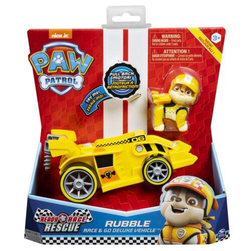 Rescue Themed Vehicles Rubble Race Paw Patrol Ready