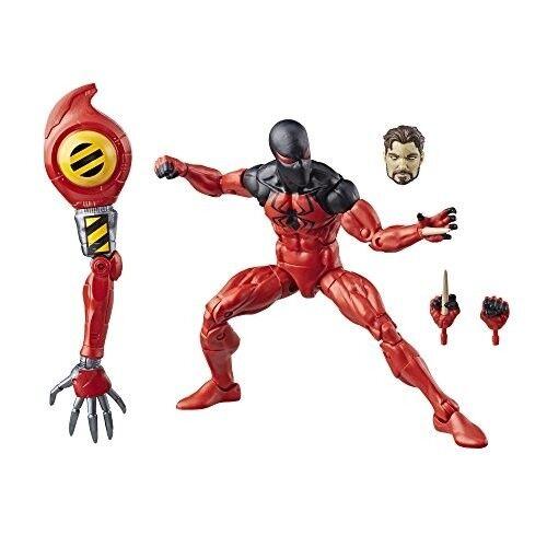 spider - man  legends serie hp scarlet spider