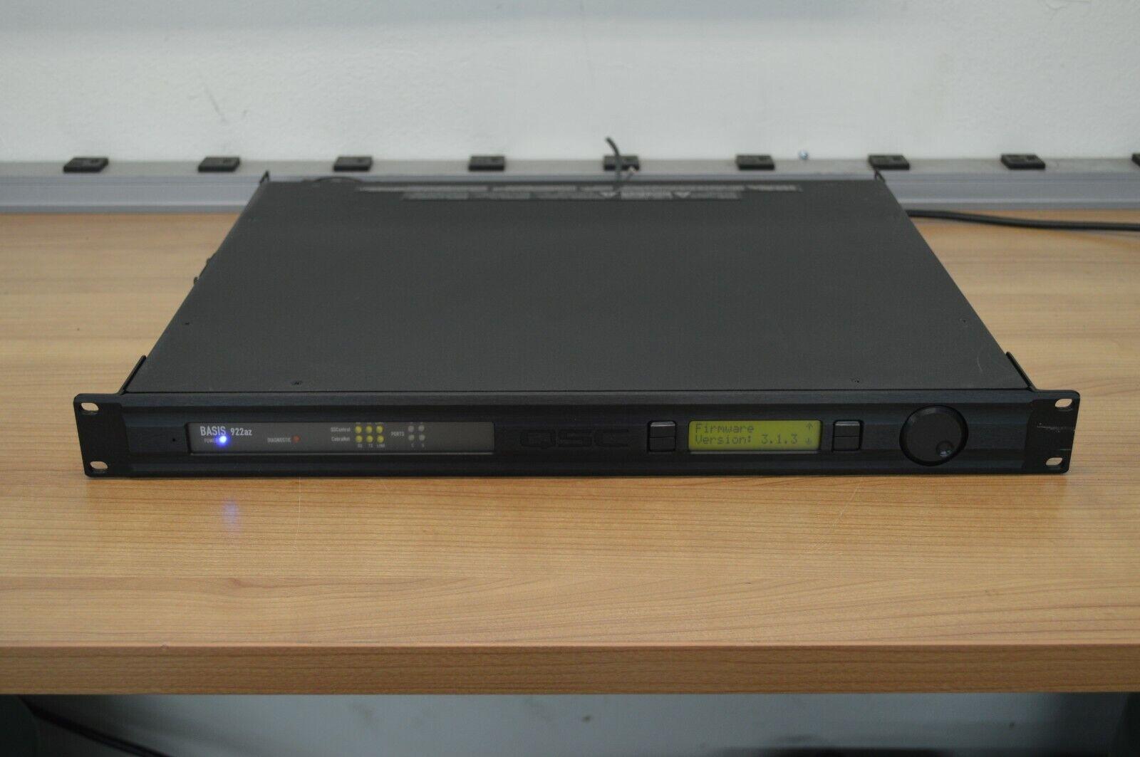 BASIS 914LZ QSC CONTROL PROCESSOR