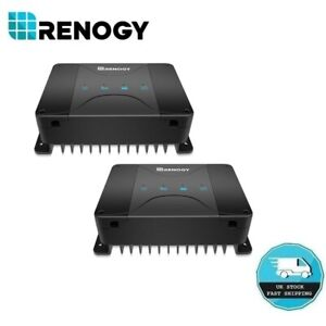 Renogy 30A 50A DC-DC On-Boad Battery Charger Marine Dual Battery Maintainer Van