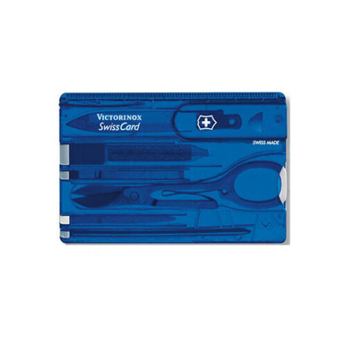 Multi Function Swisscard Tool various colours Victorinox Swiss Card