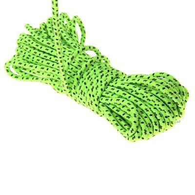 4mm 10M Camping Tent Tarp Reflective Guyline Rope Runners Paracord Cord 2.5mm