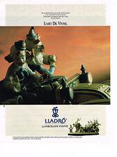PUBLICITE ADVERTISING 024   1990   LLADRO   porcelaine vivante