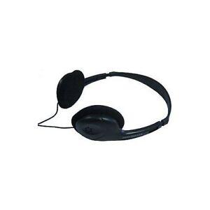 Design-Headphone-Stereo-Music-Shell-Strap-Audio-Cable-Earphones-Black-new