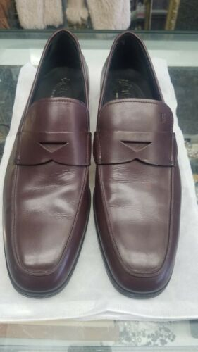 Tod's mens Burgundy shoes Size 9