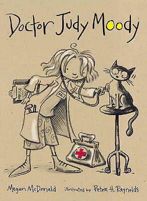 """AS NEW"" Doctor Judy Moody, McDonald, Megan, Book"