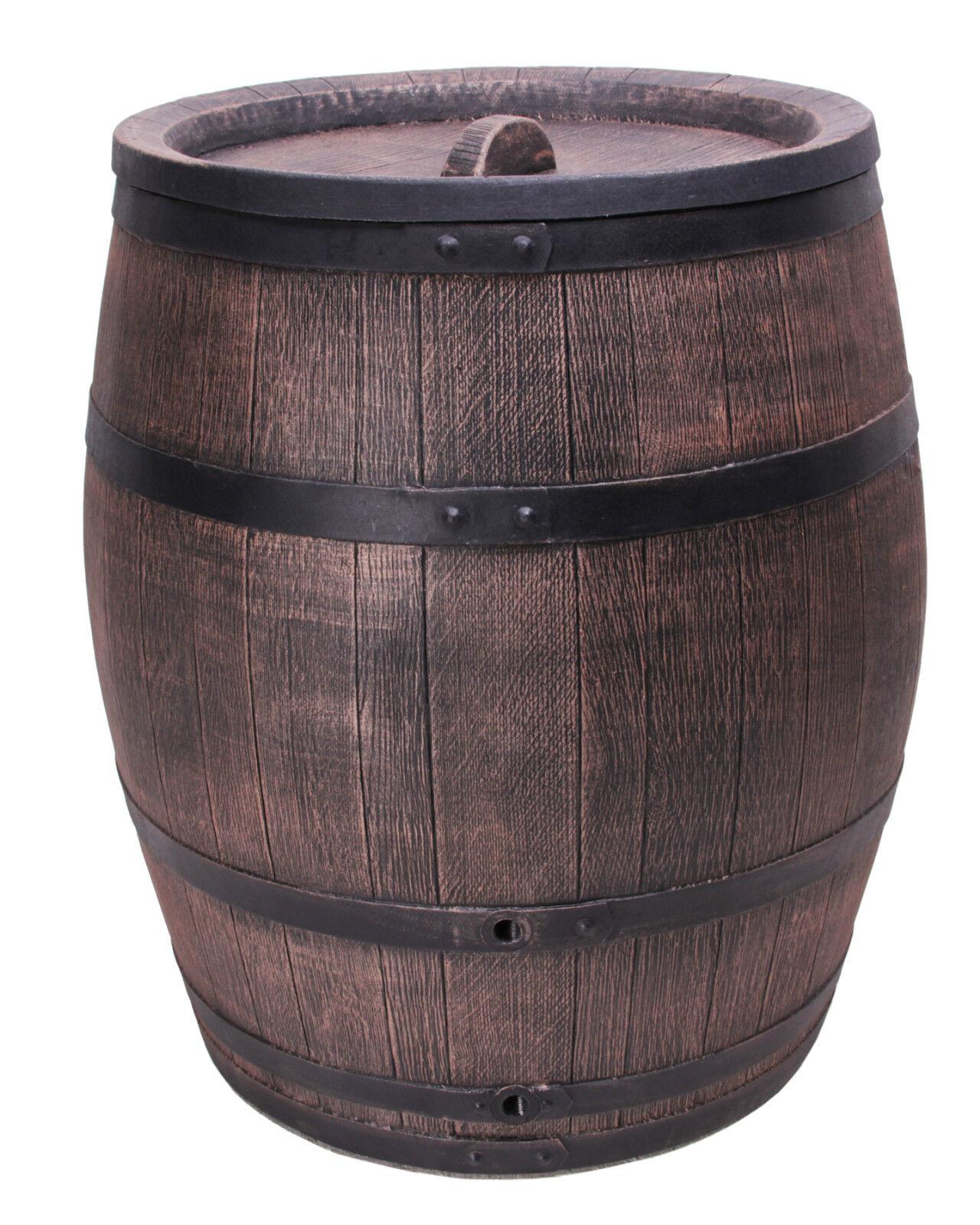 Ondis24 Eichenfass 240 240 240 Liter Regentonne Holzoptik Fass Wasserbehälter Kunststoff 8cd5f7