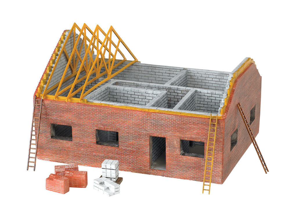 HO Scale Bachmann 35105  Residential Building Site