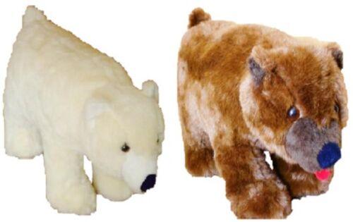Eisbär Braunbär Kindermöbel Plüschtier 45 x 65 Stofftier Sitzmöbel Hocker
