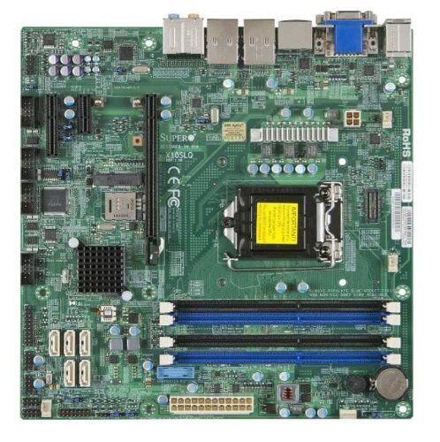 Supermicro 139012 Motherboard Mbd-x10slq-b Lga1150 Core I3/i5/i7 Q87 32gb Ddr3