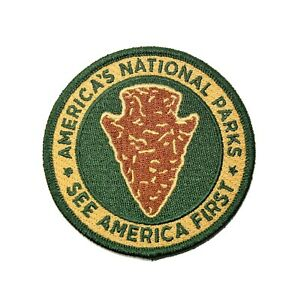 Official-America-039-s-National-Parks-See-America-1st-Patch-Junior-Ranger-Halloween