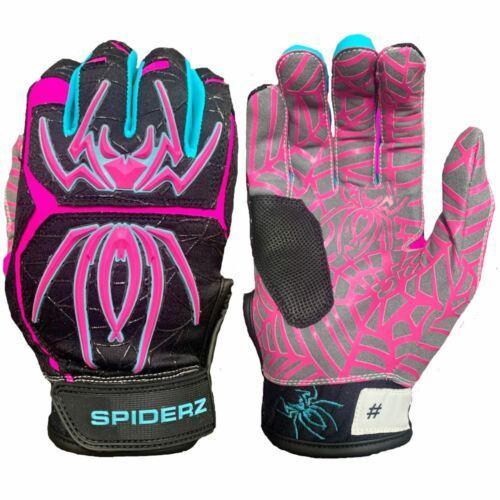 Black Vice 2020 Spiderz HYBRID Batting Gloves