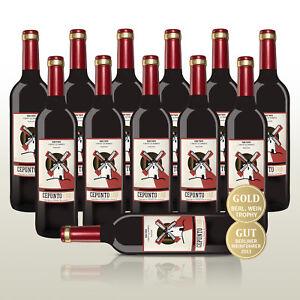 Rotwein-Spanien-trocken-12-Fl-Cepunto-Oro-100-Tempranillo-Weinpaket