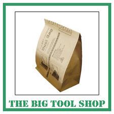 10 Floor Sander Paper Dust Bags For HT7 Hiretech Edge Sanding Edger Edging