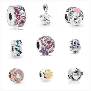 Fashion-1pcs-Silver-CZ-European-Charm-Beads-Fit-925-Bracelet-Necklace-Chain