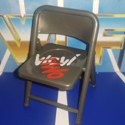 WCW//NWO Acier Magnétique fauteuil-WCW Toybiz Accessoires pour WWE Wrestling figures