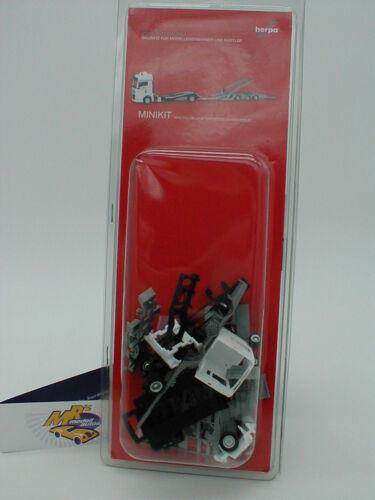 Transporter Herpa 013529 Minikit MAN TGX XXL LKW Hängerzug  weiß 1:87 NEU