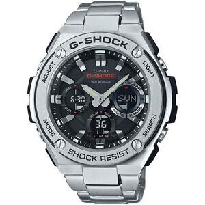 888b57d71c8 Casio G-shock G-steel GSTS110D1-A Tough Solar Stainless Steel Men s Watch