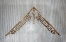 Dollhouse Miniatures Vintage Laser Tech Wood Roof Trim #RT-121