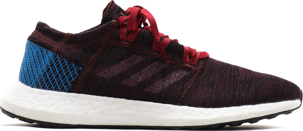 Mens Adidas PureBOOST GO Red Multi Sport Athletic Running shoes AH2326 Size 9-14