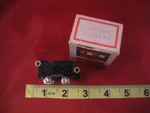 Cutler Hammer E30KLA3 Series A2 Contact Block E30 KLA3 Auxiliary Switch Nos New