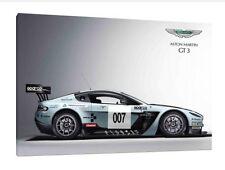 Aston Martin V12 Vantage GT3 - 30x20 Inch Canvas - Framed Picture Art Print
