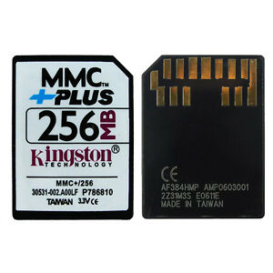 Kingston 512 Mb multi media tarjeta del MMC Plus Para Los Teléfonos Celulares Nokia