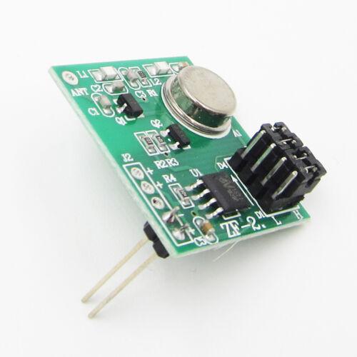 5V 12V 433Mhz Wireless Transmitter EV1527 Learning Code Encoded for Arduino//AVR
