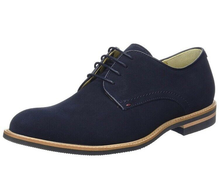 Steptronics para Hombre Victor Derbys, Azul (Navy), 6 UK 40 EU