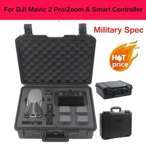 For DJI Mavic 2 Pro//Zoom /& Smart Controller Military Spec Hardshell Storage Case