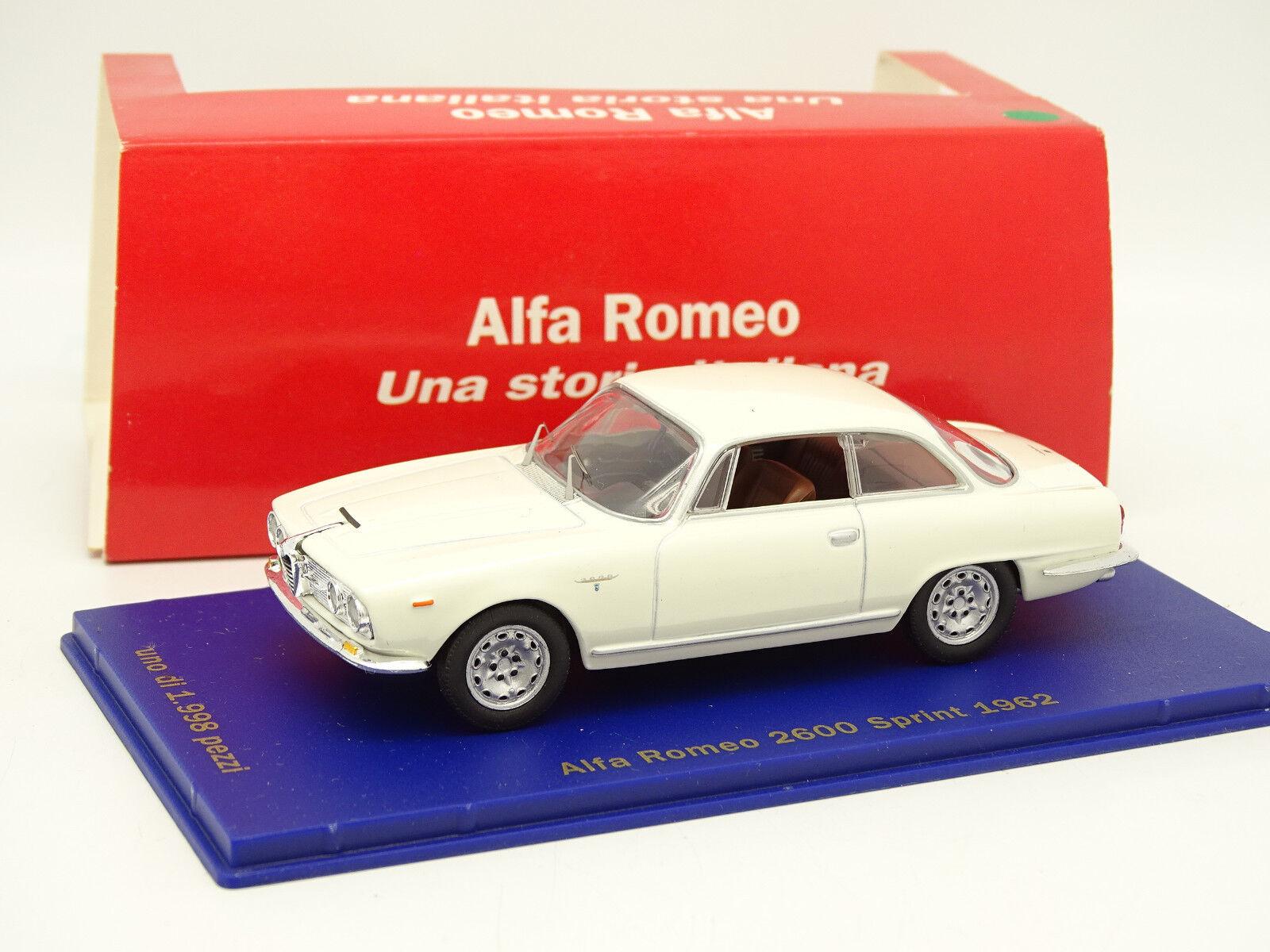 M4 1 43 - Alfa Romeo 2600 Sprint 1962 White